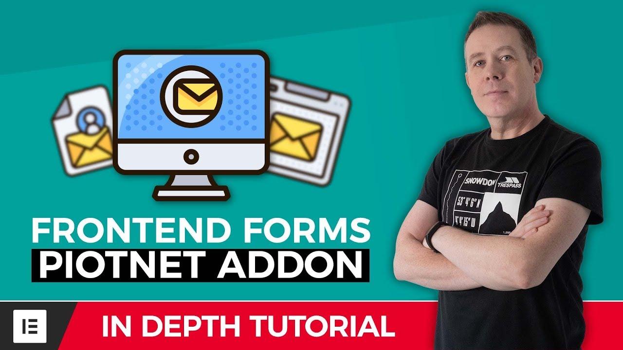 Elementor Front End Posting Form with Piotnet Addons