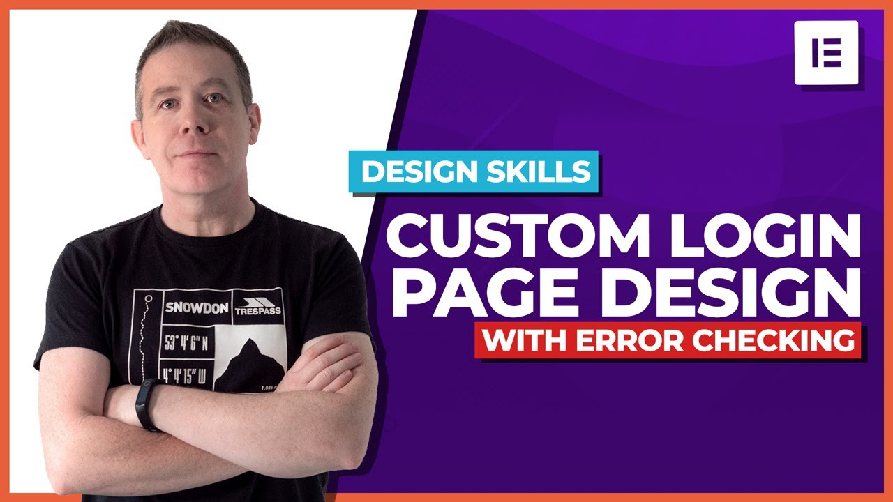 How to create a WordPress Login Page with error checking | Elementor Pro!